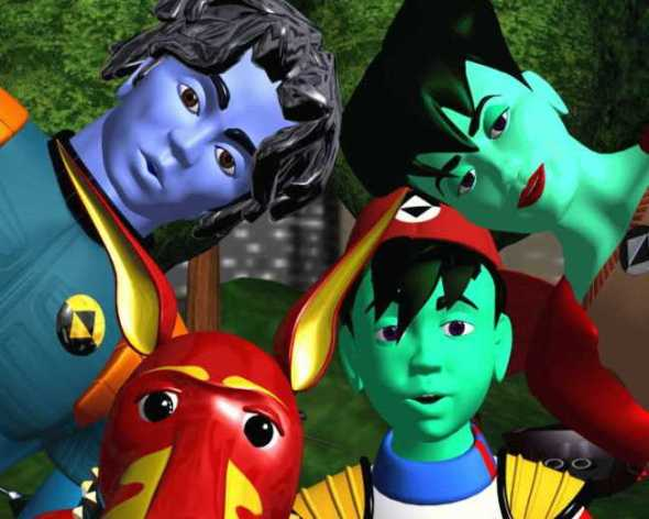 Bob, Enzo, Dot and Frisket from ReBoot